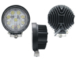LED work light, 27W, cold white (6000K), 1980lm, 30°, 10÷30VDC: OLI.WK.27W-ED2