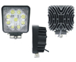 LED work light, 27W, cold white (6000K), 1980lm, 60°, 10÷30VDC: OLI.WK.27W-EDF