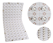 LED Sheet 12V, 32W, neutral white (6000K), 3200lm, 160° with lens, 12VDC: OLSL.BN.32W.LENS.20FL