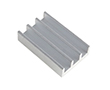 Heatsink, profil DY-CO; length=20mm width=12.5mm height=5mm: RAD DY-CO-020