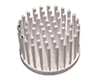 Heatsink for LED, diameter 40mm, height 20mm: RAD ICKSR40X20
