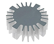 Heatsink for LED, diameter 60mm, height 20mm: RAD SK56920AL