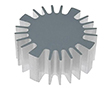 Heatsink for LED, diameter 60mm, height 25mm: RAD SK56925AL