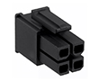Female connector, straight 4pin, pitch 5.7mm: Z MX-1700010104