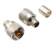 straigth UHF male, crimp type for cable RG213: Z UHF704