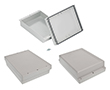 Enclosures hermetically sealed with cast gasket Z46JS lightgray: OB Z46JS ABS