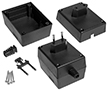 Enclosures for power supplies Z21 black: OB Z21 PS