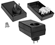 Enclosures for power supplies Z27 black: OB Z27 PS
