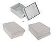 Enclosures hermetically sealed with cast gasket Z46AJS lightgray: OB Z46AJS ABS